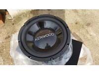 Kenwood Subwoofer & Box