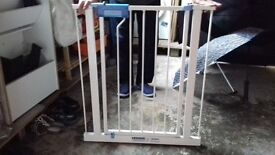 2 child safety gates for stairs. Good condition