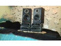 Technics stereo full setup
