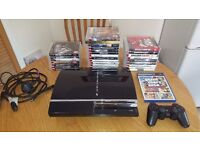 RARE - Playstation 3 6oGb backwards compatible - plays PS2 and PS1 games! CECHC03 Model
