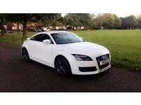 Audi TT Quattro, diesel, Ibis white, FSH