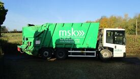 MERCEDES ECONIC REFUSE DISPOSAL TRUCK DUSTCART BIN LORRY IDEAL EXPORT NO VAT !