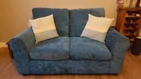 2 Seater Sofa - Teal