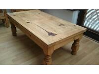 Coffee table; two sideboards & 2 lamp tables