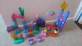 Disney princess megabloks set - over 200 pieces