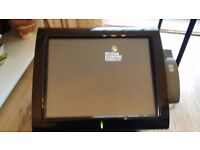 2 x Aures Posligne POS XP Ready X15-25253 with full system peripherals from working enviroment