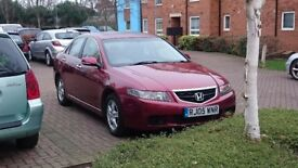 Honda Accord 2.0 V-tec 2005 £1,300