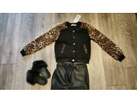 New bomber ja ket coat size S will fit 12 year girl
