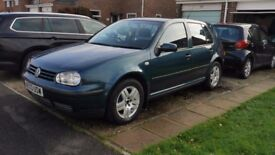 VW Golf 1.6L 2003