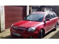 Toyota Avensis sell or swap