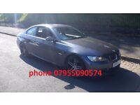 bmw 325d coupe m sport 3.0 turbo diesel 2008 58 plate