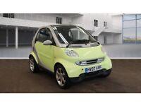 2007 07 Smart Fortwo 0.7 City Pulse, Semi- Automatic, Petrol, Metallic Silver and Yellow, New MOT