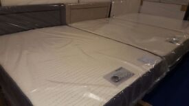 Special Offer... New Good Quality Memory foam double bed with storage drawer and matching headboard
