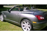 Chrysler crossfire convertible