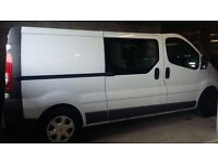 SIX SEATER MAN AND VAN HIRE