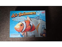 Remote Control RC Inflatable Balloon Air Swimmer Flying Nemo Fish Blimp NEW