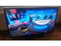 """40"""" led full hd tv,hd freeview immaculate."""