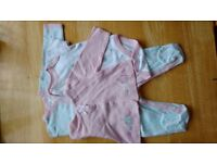 Baby girl outfit -0-3 months -used