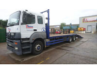 2004 Mercedes Axor 410HP Beavertail Plant Lorry