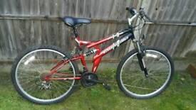 Full suspension bicycle