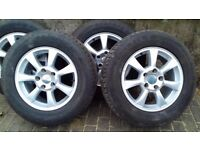 JEEP GRAND CHEROKEE WHEELS AND TYRE X4