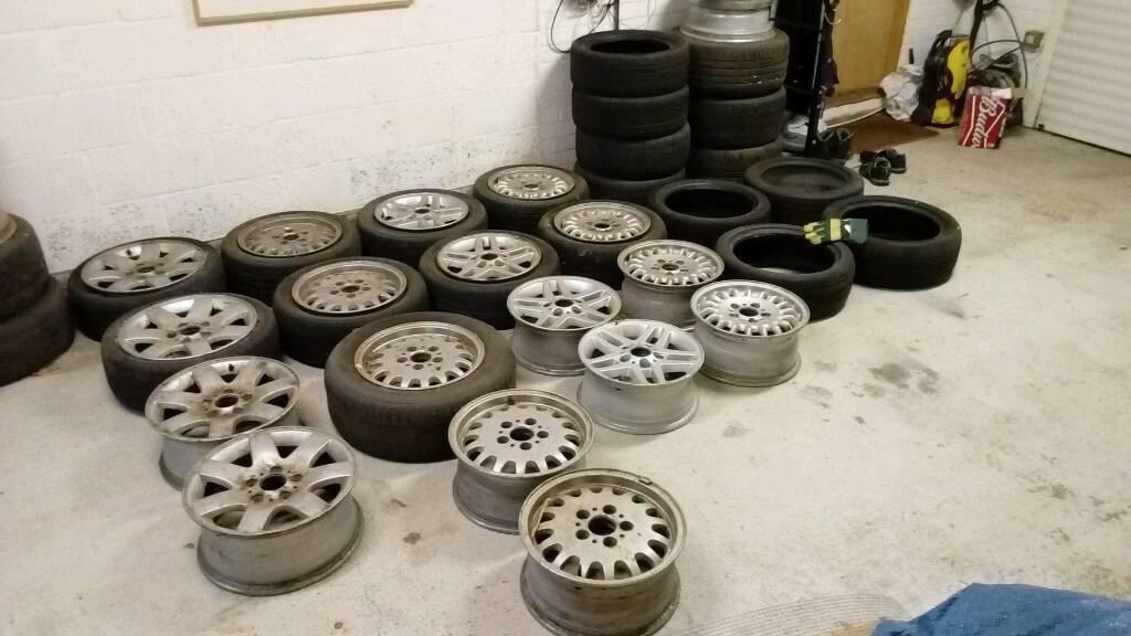 "BMW wheels alloys rims for drift skid drifting 15"" 16"""