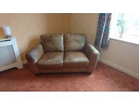 Free 2 Seater Leather Sofa