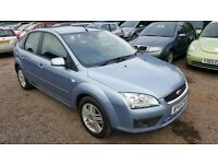 Ford Focus 1.6 Ghia 5dr, LONG MOT, HPI CLEAR,1 FORMER KEEPER, DRIVES NICE & SMOOTH, P/X WELCOME