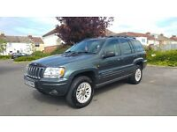 2002 Jeep Grand Cherokee 2.7 CRD Automatic
