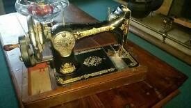 Crank handle Singer sewing machine