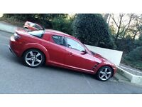 Rx8 192ps 2004 engine rebuilt, coils replaced, spare 2 tyres, new cat/backbox