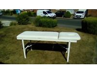 Now gone - Massage bed, free on collection