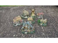 7 Cottage Ornaments (Good Condition)