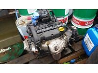 Vauxhall 1.2 corsa engine and gearbox