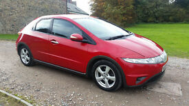 2008 HONDA CIVIC 2.2i-CTDi TURBO SE - EXCELLENT SERVICE HISTORY - 108,200 MILES - MOT OCT 17