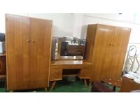 Retro Vintage Dressing Table with two wardrobes can deliver