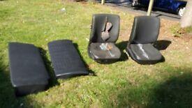 Classic vw beetle seats