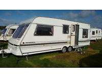 Swift Conqueror 640 Salon caravan 1996