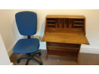 Second-hand Bureau & Chair (Optional) - Ideal if you have limited space.