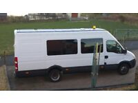 IVECO DAILY MINIBUS AGILE 2011 LONG WHEEL BASE. HIGH ROOF. £3950