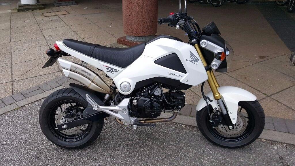 Honda Msx 125 Monkey Bike Only 800 Miles From New 1 Owner