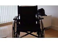 Lightweight Self Propelled Wheelchair with Handbrakes