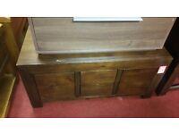 3 drawer coffee table - wenge