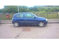 2001 Renault Clio MTV 1.2 spares or repair