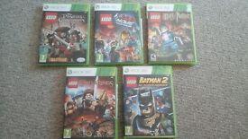 Lego Xbox 360 games