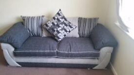 3 seat sofa very comfortable 2 months old