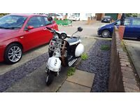 AJS Modena 125cc scooter