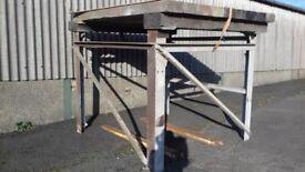 Metal Tank Stand