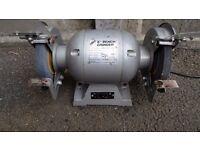 """Hilka bench grinder - 6"""" - 1/2 hp - 370 Watts - 3000 rpm"""