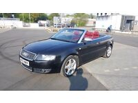AUDI A4 S-line Convertible 1.8t (for sale or swap)